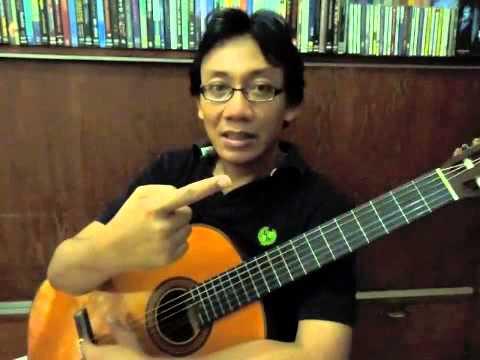 Belajar Gitar Klasik - Dua Macam Petikan