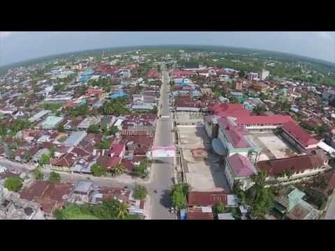 Kuala Tungkal from Above. (Full Video)