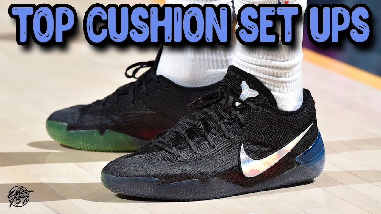 Top 10 Basketball Shoes With The Best Cushion Set Ups