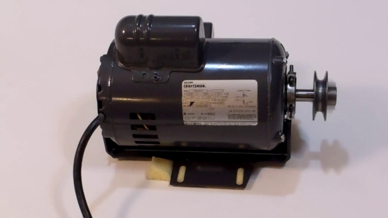 craftsman 820030 1 1 2 1 5 hp table saw motor 3450rpm cw