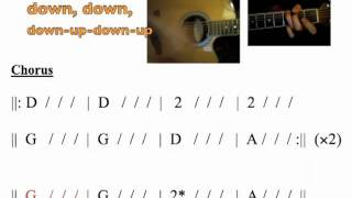 """""""back to december"""" moving chord chart"""