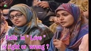 Video Falls in Love is right or wrong | Dr Zakir Naik 2017 |  Peace TV Live Streaming download MP3, 3GP, MP4, WEBM, AVI, FLV September 2017