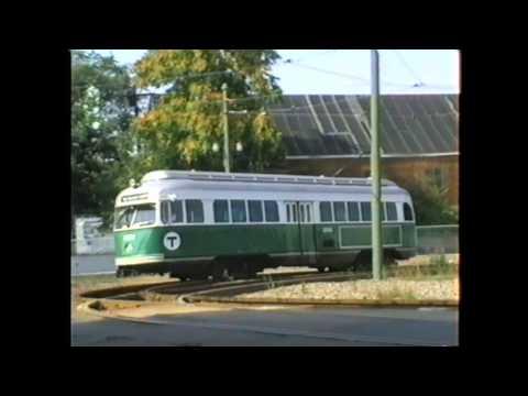Boston MTA Mattapan-Ashmont Green PCC Cars