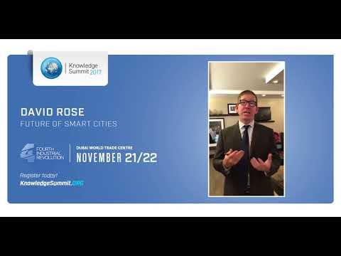 Knowledge Summit 2017 - David Rose  قمة المعرفة 2017 - ديفيد روز