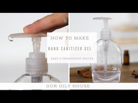 DIY Hand Sanitizer Gel | How to Make Hand Sanitizer at Home