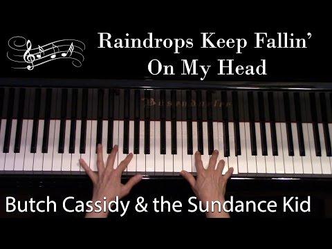Raindrops Keep Fallin' On My Head, Bacharach (Advanced Piano Solo)