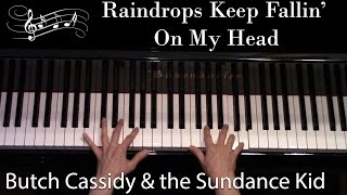 Raindrops Keep Fallin' On My Head, Bacharach (Advanced Piano Solo)
