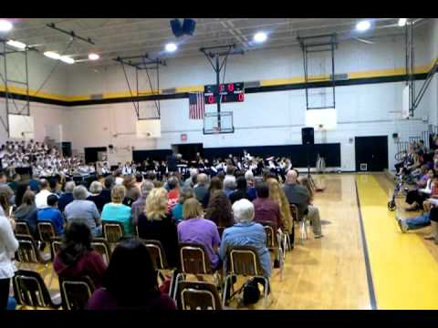 Palm harbor middle school Military tribute