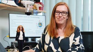 video: Oxford Professor Sarah Gilbert is the model for the brainiest Barbie yet