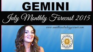 GEMINI JULY FORECAST 2015- How deep is your love?