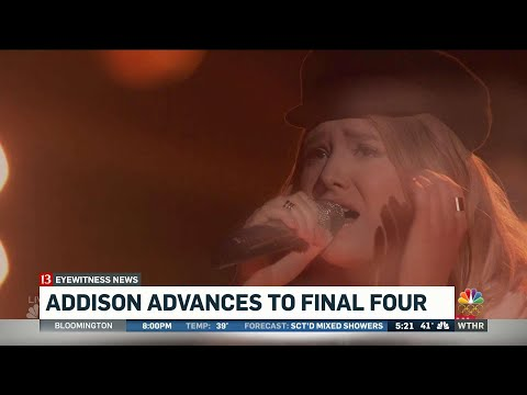 Addison Agen proceeds to The Voice finale