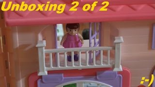 Toys For Girls: Kid Connection Dollhouse Playset Unboxing With Maya 2 Of 2