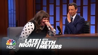 Aidy Bryant's Drake Moment - Late Night with Seth Meyers