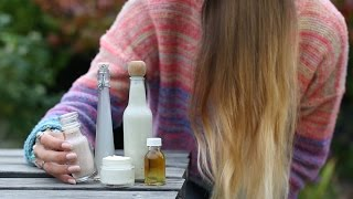 Homemade Natural Hair Care 'Essentials' - all you need - Healthy, Vegan, Eco-friendly