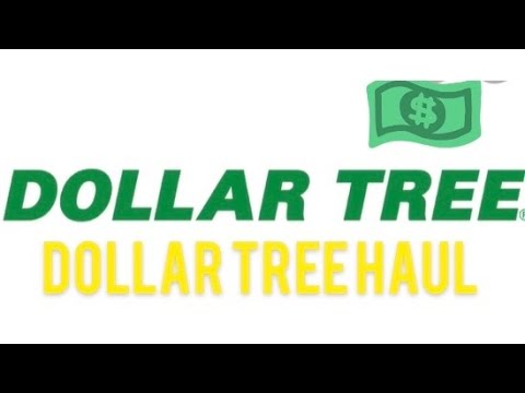 DOLLAR TREE HAUL | COME SEE WHAT I FOUND AT DOLLAR TREE 🌲