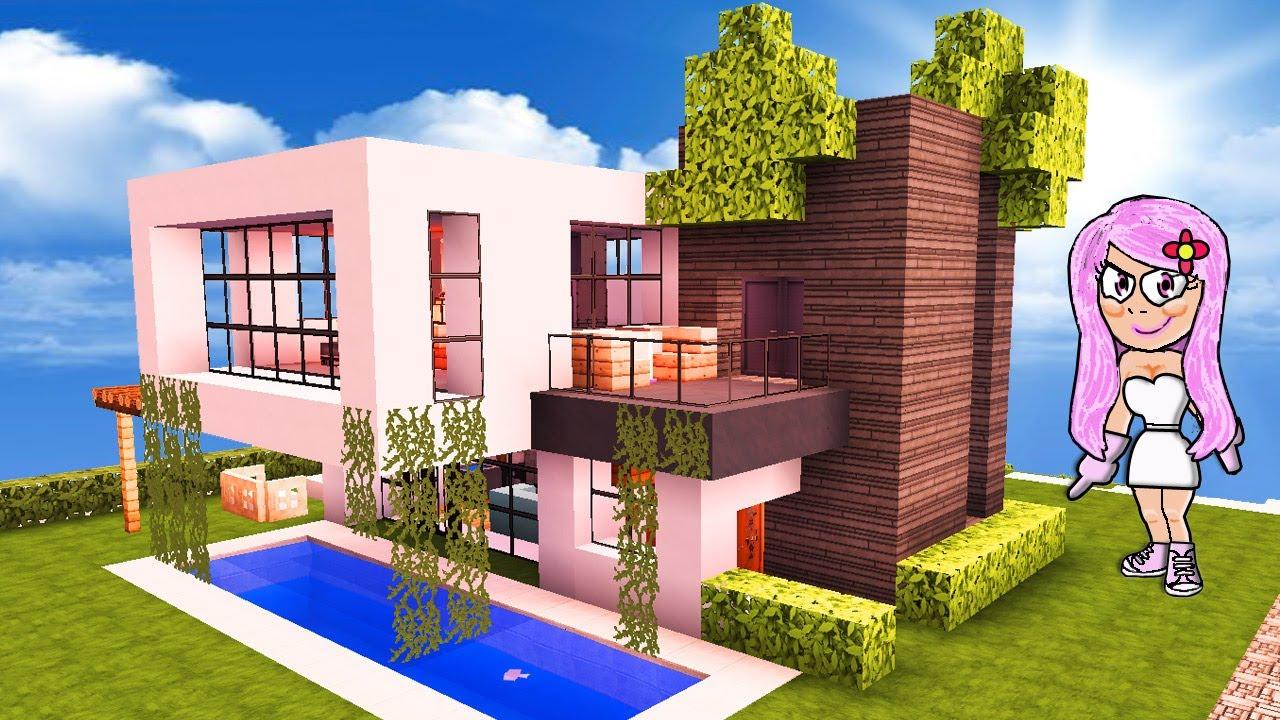 C mo hacer una casa moderna de hormig n con balc n en for Casa moderna hormigon