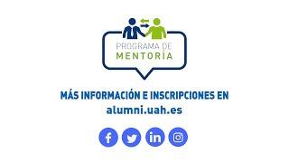 Programa de Mentoría de la Universidad de Alcalá (AlumniUAH)