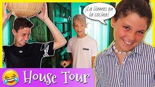 Segunda PARTE HOUSE TOUR casa LADY PECAS 🏡 NUEVA CASA The CRAZY HAACKS 👨