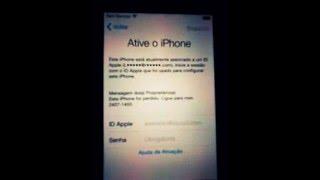 Burlado tela de ativação do iPhone 4s #2018