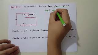 "FİZİK Dersi 10. Sınıf 1. Ünite ""ELEKTRİK"" (video 1)"