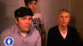 Fall Out Boy Womanizer- Ellen Bathroom Concert Series