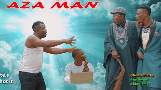 AZA MAN AT THE THRONE OF GRACE (Homeoflafta comedy)