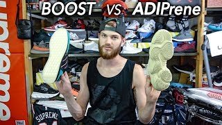 ADIPrene vs BOOST + Palace Skateboards Week 7 DROP VLOG + Completed new JesusTalko shirt