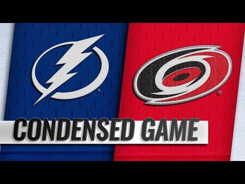 03/21/19 Condensed Game: Lightning @ Hurricanes