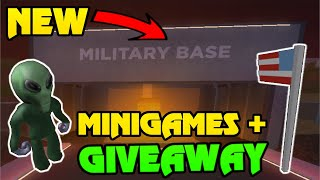 🔴 ROBLOX JAILBREAK MINIGAMES! | JOIN FOR A FREE SOCCER RIM! | FREE ROBUX Giveawy | Jailbreak Live