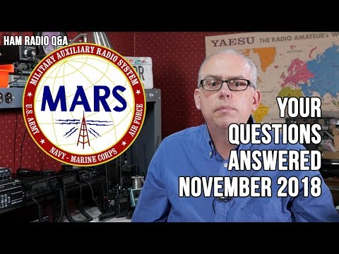 Your Questions Answered (Baofengs, MARS, & APRS) - Ham Radio Q&A