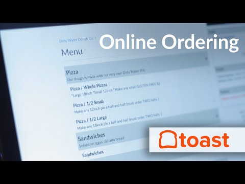 Online Ordering with Toast POS