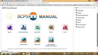 TTT BCPS One Manual