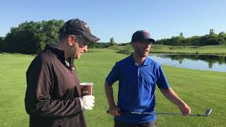Judd plays golf for the first time in 20 years. Can he conquer this...