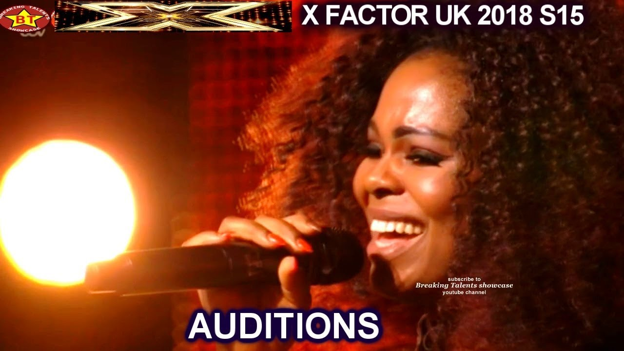 Kiki Piesare Janet Jackson look alike(?) sings One Night Only | AUDITIONS X  Factor UK 2018