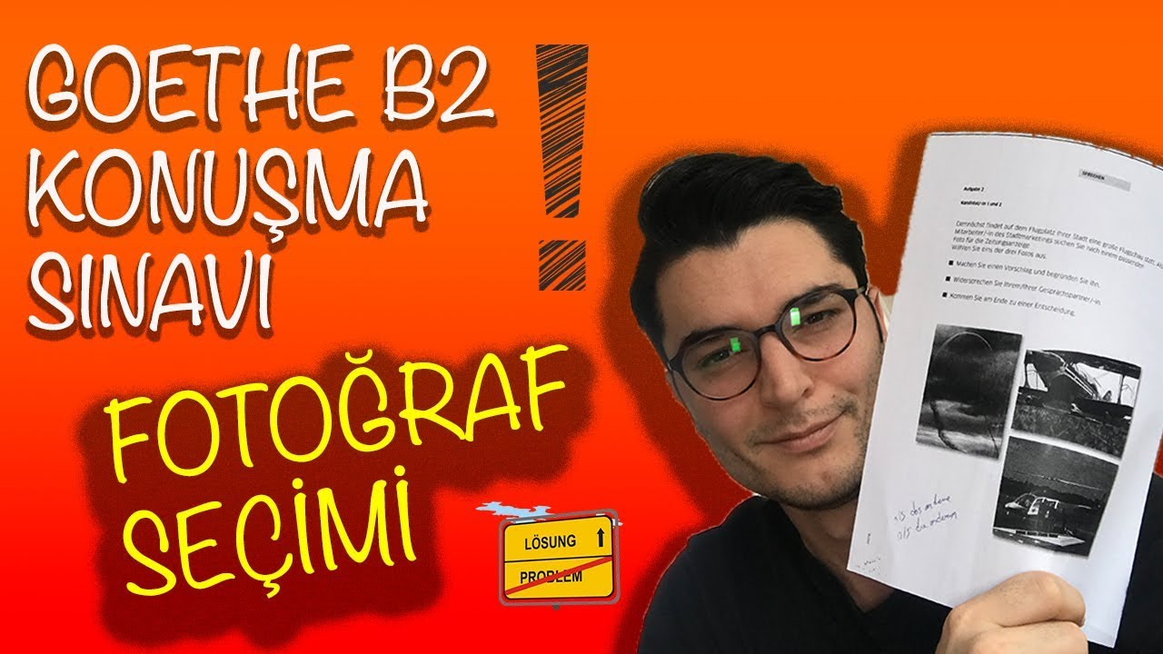 B2 Almanca Konuşma Sinavi Almanca öğreniyorum Youtube