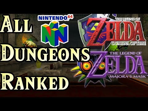 N64 Zelda Dungeons Ranked Worst to Best (OoT and Majora)