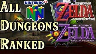 N64 Zelda Dungeons Ranked Worst to Best (OoT and Majora)