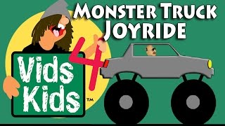 Monster Truck Joyride - Kids Count With Trucks