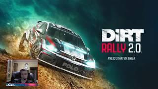 diRT Rally 2.0 Deluxe Edition (2019)  Настройка под клавиатуру и первые заезды