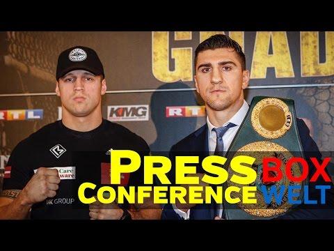 Huck vs Briedis - FINAL PRESS CONFERENCE - 29.03.2017 - Dortmund