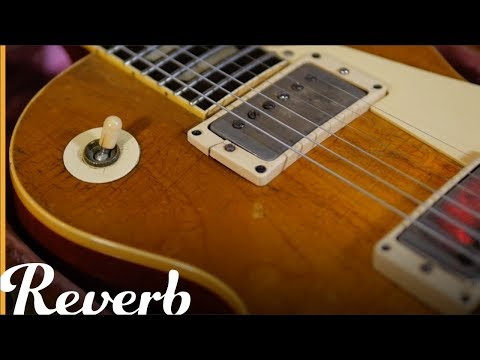 "Found on Reverb: Duggie Lock's 1960 Les Paul ""Burst"" 
