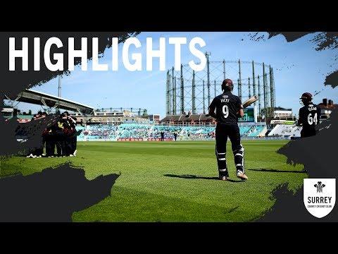 Highlights: Surrey v Somerset - RLODC