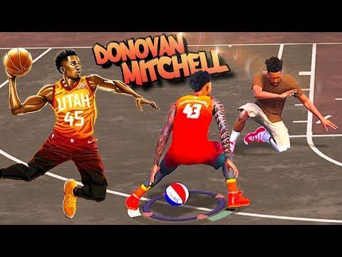 Rookie DONOVAN MITCHELL SLASHER Archetype At The Park - NBA 2K18 3v3