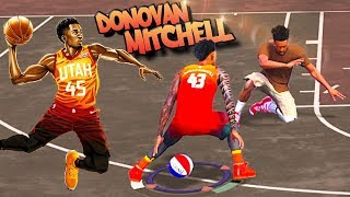Rookie DONOVAN MITCHELL SLASHER Archetype At The Park - NBA 2K18 3v3