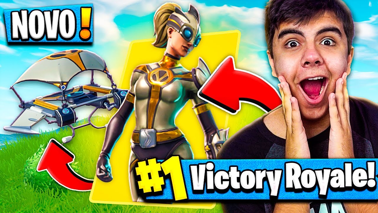 Comprei a nova skin ventura no fortnite battle royale - Ventura fortnite ...