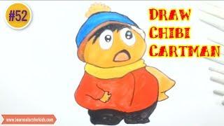 How to Draw Chibi Cartman, draw speed #52