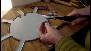 Ремонт пластмассовой емкости достаточно дрели ножниц и заклепочника