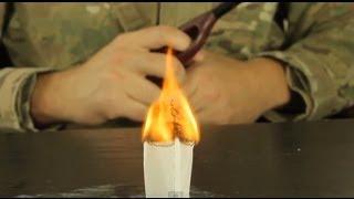Tea Bag Rocket - Science Experiment