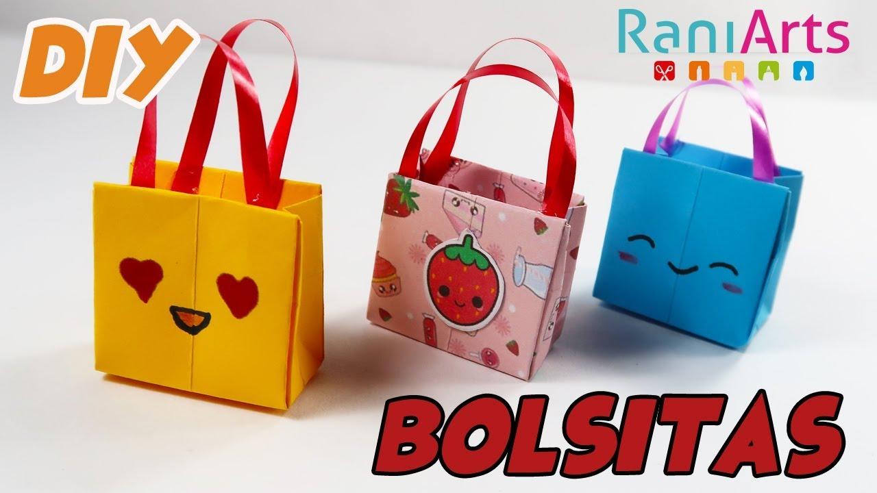 Diy bolsitas de regalo origami gift bags youtube - Hacer bolsas de papel para regalo ...