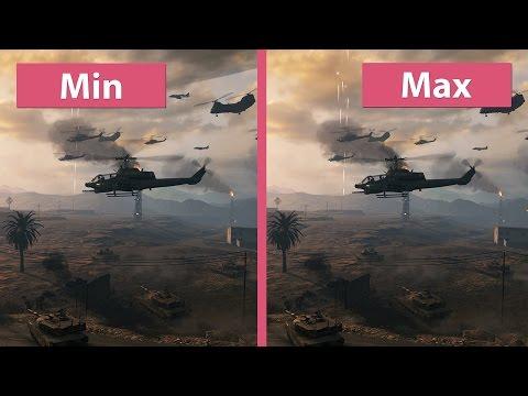 Call Of Duty Modern Warfare Remastered – PC Min Vs. Max 4K UHD Graphics Comparison